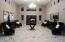 This expansive foyer makes a statement about luxury the minute you walk through the doors.