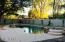 The pool is private and secure with plenty of room to spread out.