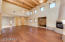 Great Room with 18ft ceilings.