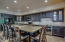 Beautifully done kitchen with 10' long granite island