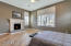 Master Suite complete with spacious sitting area and cozy fireplace!