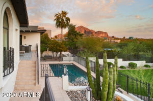 Epic setting with striking views of Camelback