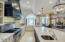 Beautiful open kitchen, elegant ,yet so functional, for the best of the chefs and entrertainers!