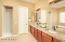 Gorgeous master bath with new shower, upgraded counters and fixtures.