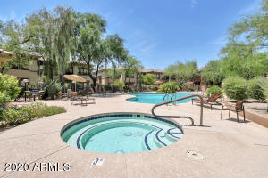 The Village at Grayhawk offers 3 pools, fitness facilities, and is gated.