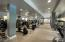 Trying to stay fit? Check out this gorgeous fitness center. No need to go off property with all of the equipment here.