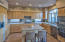 FULLY EQUIPPED KITCHEN INCLUDES DISHES, GLASS WARE, FLATWARE, POTS & PANS