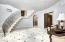 Basement foyer sitting room & Wine Closet