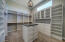 Custom Cabinets, Shelves and Drawers for Master Walk In Closet