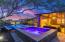 Pool, spa and ramada