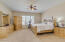 Master suite on main level