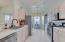 Nice kitchen, stainless appliances, gas stove!