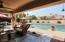 Resort style south facing backyard!