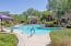 Heated pool is a year round amenity for the private use of Tesoro Homeowners.