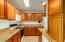 Plenty of cabinet and counter space