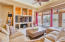 High ceilings, surround sound