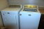 Maytag Washer and Gas Dryer are included