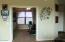 French doors lead to spacious den/office