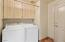 Laundry Room with Walk-In Pantry