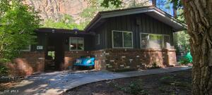 9715 N State Route 89A. On Oak Creek with Private Swimming Hole!