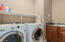 Washer and dryer are included!