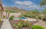 Spectacular mountain and desert common space views