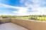 Master Balcony has golf course and city light views
