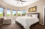 Upper level guest en-suite with private patio has exquisite views of the McDowell Mountains