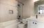Renovated bath - guest suite 1
