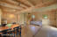 Dining/Living Area in Barn