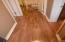 Laminate flooring throughout