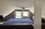upstairs bedroom water view