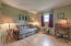 3rd bedroom with oak floors. 10.5 x 11.5