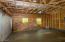 Inside the garage.