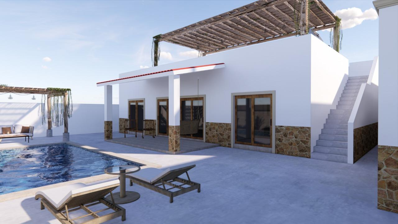 Second project for 'Casas Imperial' this 2 bedroom home plus studio office is now under construction, with plans to deliver this coming summer, great quality type of finishes and great  upgrades options available:  Pool for $15,000 USDJacuzzi $7000.00 USD1 car Garage $20,000 USDSeparete guest bedroom with small kitchen and full bathroom $8,000 USDcome and see this new option for Comitan area!