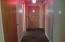 Foyer with slate tile floor