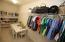 Huge closet!