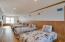 Third floor bedroom with 5 beds