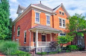 Welcome home to historic German Village just a short distance to Schiller Park.