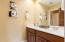 The full hall bath offers even more convenience for anyone living upstairs