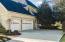 The 3-car side load garage