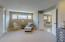 • Light sand carpet • Mindful grey painted walls • Can lighting • 3 windows