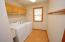 Utility Sink & Overhead Cabinetry
