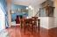 Ample eating space in kitchen. Open to Great Room