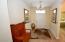 Ceramic Tile flooring, Leads to Split Guest Bedroom & Bath