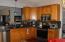 Kitchen storage and work area