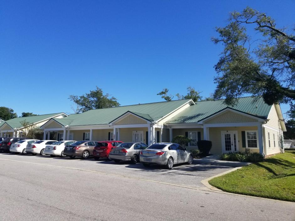 Exceptionally well maintained office building centrally located in Crestview (right off the intersection of Ferdon Blvd and Hwy 90). The property is designed to have 8 individual office suites. The total size of the building is 12,000 sqft, 6,000 sqft of which (4 units) is leased to a long term quality tenant. Another unit of 1500 sqft was leased in December 2017. Overall, 4500 sqft is available for lease or for an owner occupant. Please inquire for lease rate information of the existing tenants. Once fully leased, the CAP rate of the building will be ~10%.