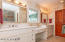 MASTER BATH WITH DOUBLE SINKS - AND MAKEUP VANIETY