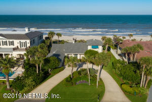 Spectacular ocean lot and most sought after Ponte Vedra Blvd location within walking distance to the Ponte Vedra Club.