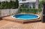 Yard with pool